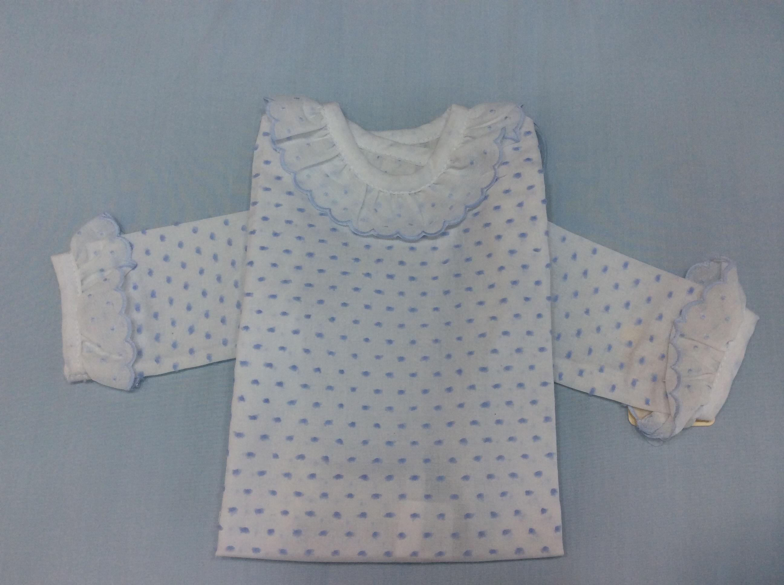20adca045 Camisa batista plumeti celeste. Inicio · Tienda · Primera Puesta · Camisas  Camisa  batista plumeti celeste