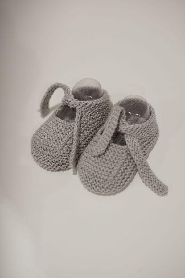 Patucos anudados de algodón