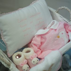 Canastilla recién nacido