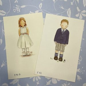 Recordatorios de Comunión niño y niña