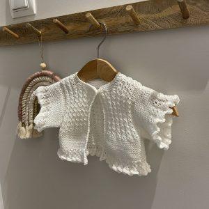 Rebeca de manga corta bebe